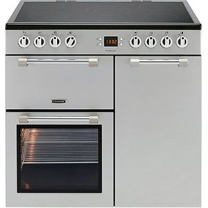 Leisure Ck90c230s 90cm Cookmaster Electric Range Cooker In Silver