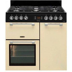 Leisure Ck90g232c 90cm Cookmaster Gas Range Cooker In Cream