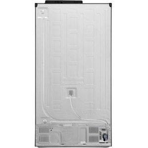 Lg Gsl760mcxv American Fridge Freezer In Black Steel Ice Water Pl