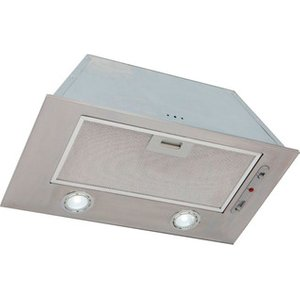 Luxair La74 Can Ss 74cm Canopy Hood In Stainless Steel Led Lights
