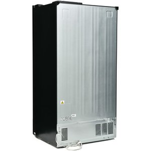 Montpellier M510bk American Frost Free Fridge Freezer In Black F Rated