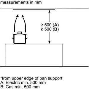 Neff D64xaf8n0b 60cm Integrated Cooker Hood In Stainless Steel