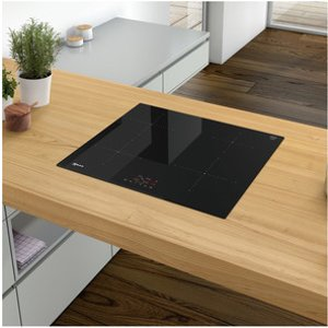 Neff T36fb40x0 Built In 60cm 4 Zone Induction Hob In Black Glass