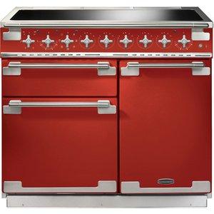 Rangemaster 100220 100cm Elise Induction Electric Range Cooker In Red
