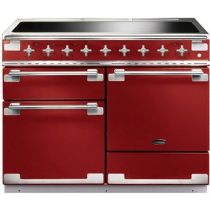 Rangemaster 100380 110cm Elise Induction Electric Range Cooker In Red