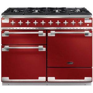 Rangemaster 94260 110cm Elise Dual Fuel Range Cooker In Cherry Red