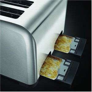 Russell Hobbs 23540 4 Slice Side By Side Toaster In Polished St Steel
