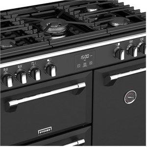 Stoves 444410797 Richmond S900g 90cm Gas Range Cooker Black