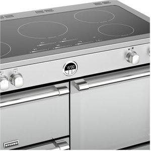 Stoves 444444508 Sterling S1100ei 110cm Induction Range Cooker In St S