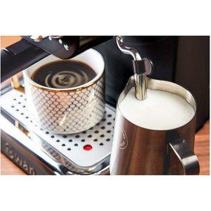 Swan Sk22110bn Retro Pump Espresso Coffee Machine In Black 15 Bars