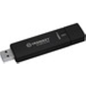 Kingston Ironkey D300 D300s 128 Gb Usb 3.1 Flash Drive - Anthracite - 256-bit Aes - Taa Co IKD300S/128GB Memory Stick