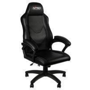 Nitro Concepts C100 Gaming Chair - Black NC C100 B Joysticks and Gaming