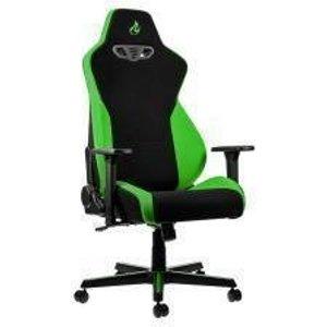 Nitro Concepts S300 Fabric Gaming Chair - Atomic Green Nc S300 Bg Uk Joysticks And Gaming