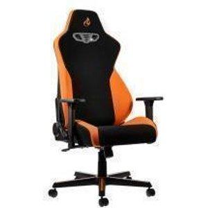 Nitro Concepts S300 Fabric Gaming Chair - Horizon Orange NC S300 BO UK Joysticks and Gaming