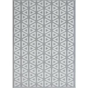 Graphite Grey Moroccan Tiles Geometric Rugs - Milan 160x230  R 2818 H55 Milan 5611 Flooring & Carpeting, Grey Rugs