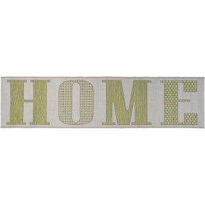 Flair Rugs Green Home Runner Rug 60x230  CASA GREEN 60X230 AMALFI FF Flooring & Carpeting, Green Rugs