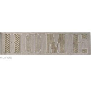 Flair Rugs Grey Home Runner Rug 60x230  CASA GREY 60X230 AMALFI FF Flooring & Carpeting, Grey Rugs
