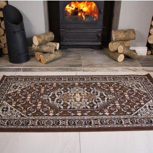 Kensington Vintage Brown Design Rug  S Kensington 200 Brown Flooring & Carpeting, Brown Rugs