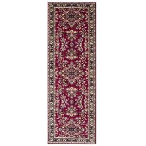 Luxury Traditional Red Design Rug 886 - Kensington 60x225cm  Rr Kensington Red 886 60x225 Flooring & Carpeting, Red Rugs