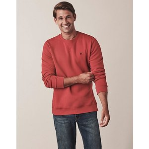 Crew Clothing Baddesley Crew Neck Sweatshirt 1202395 Womens Tops