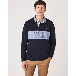 Crew Clothing Crew Ruthern Rugby Shirt 1187610