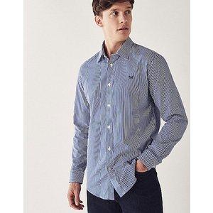 Crew Clothing Crew Slim Fit Stripe Shirt 1166950