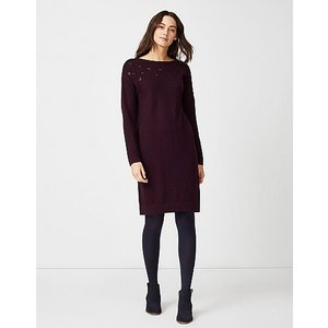 Crew Clothing Sequin Knitted Dress - Cashmere Blend 1164685 Clothing Accessories