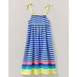 Crew Clothing Shirred Stripe Jersey Dress 1196288
