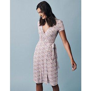 Crew Clothing Short Sleeve Jersey Wrap Tea Dress 1176978 Womens Clothing
