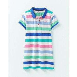 Crew Clothing Stripe Polo Shirt Dress 1196257 Womens Clothing
