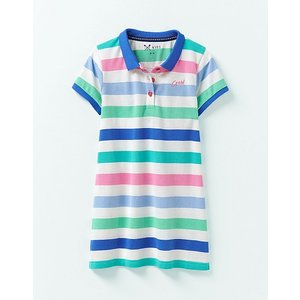 Crew Clothing Stripe Polo Shirt Dress 1196259 Womens Clothing