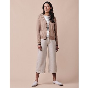 Crew Clothing Thea Tipped Pocket Cardigan 1175323