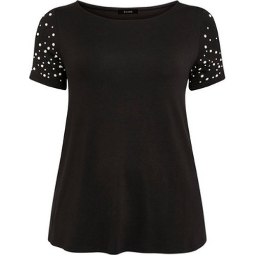 Evans Black Pearl Sleeve T-shirt, Black 552019000475783 Ev16n14dblk, Black