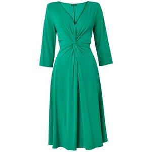 **scarlett & Jo Turquoise Blue Knot Jersey Dress, Light Blue 552019000467848 Ev70c36zble, Light Blue