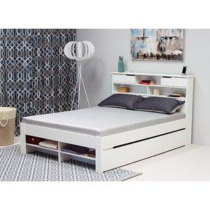 Bedmaster Fabio White Bed - Double (4'6 X 6'3) 5056347238847