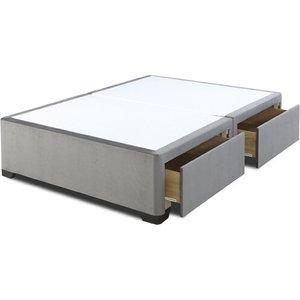 Dreamland Luxury Divan Base - Super King (6' X 6'6), No Storage, Dreamland_silver 5056347181556
