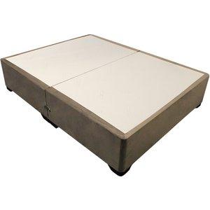 Dreamland Luxury Divan Bed Base - Single (3' X 6'3), No Storage, Dreamland_granite 5056347175999