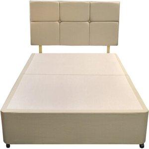 Silentnight Divan Base - King Size (5' X 6'6), No Storage, Silentnight_sandstone 5056347247702