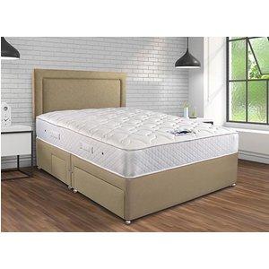 Sleepeezee Memory Pocket Sublime Divan Set - King Size (5' X 6'6), 2+2 Continental Drawers 5056314334121