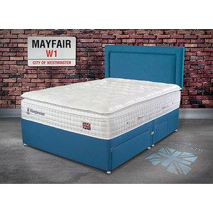 Sleepeezee Perfectly British Mayfair 3200 Pocket Divan Set - Single (3' X 6'3), 2 Drawers, 5056347146623