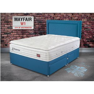 Sleepeezee Perfectly British Mayfair 3200 Pocket Divan Set - Double (4'6 X 6'3), 4 Drawers 5056347150521