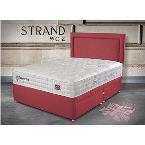 Sleepeezee Perfectly British Strand 1400 Pocket Divan Set - Single (3' X 6'3), Side Openin 5056347109734