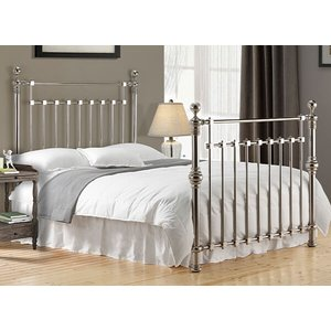 Time Living Chrome Edward Bed Frame - Double (4'6 X 6'3) 5055668776755