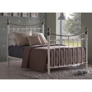 Time Living Ivory Elizabeth Bed Frame - Double (4'6 X 6'3) 5055668776786
