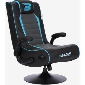 Brazen Gaming Chairs Brazen Serpent 2.1 Surround Sound Gaming Chair – Blue 18136