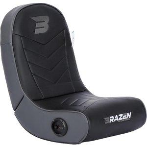 Brazen Gaming Chairs Brazen Stingray 2.0 Audio Gaming Chair Floor Rocker – Grey 18307