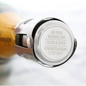 Personalised Memento Company Personalised Classic Bottle Stopper P0104j37