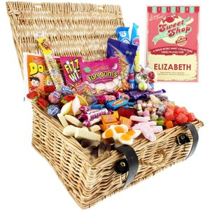 Crowther Creative Products Ltd Personalised Retro Sweet Hamper Cc130