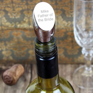 Personalised Memento Company Personalised Wine Bottle Stopper P0102b98