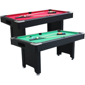 Air King Classic 6ft Pool Table With Ball Return Sub 7240 Black